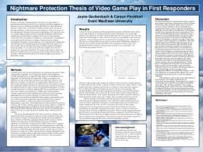 master thesis adalah computer games dissertation