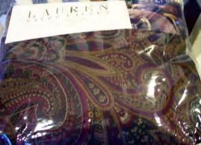 Ebay Comforter Sets Ralph Lauren New Bohemian Paisley King Duvet Comforter