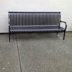 stainless steel park benches stainless steel park bench bc site service