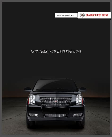 cadillac television ads personalities cadillac holiday posters stickypieces