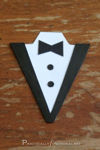 tuxedo template card diy wedding card dress tux trifold printable