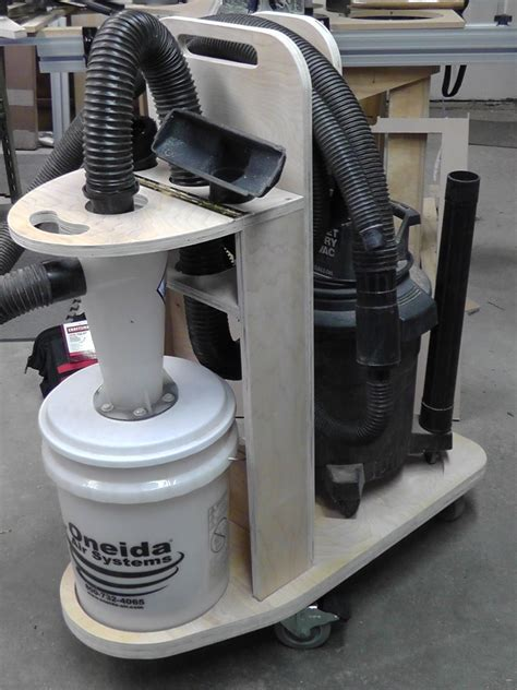 Cyclone Dust Collector Diy Filter Tablesaw Dust Separator Pemisah Se dust deputy cyclone separator cart shop vacuum cnc maker