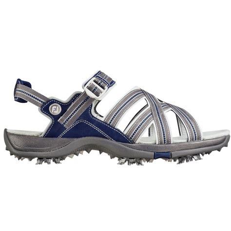womens golf sandals size 8 footjoy womens golf sandals gray blue 48445 carl s golfland