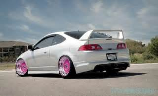 Acura Rsx Type S Accessories Rsx White And Pink Rims Acura Jdm Rvinyl