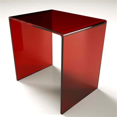 sgabello plexiglass sgabello a ponte in plexiglass 10 colori