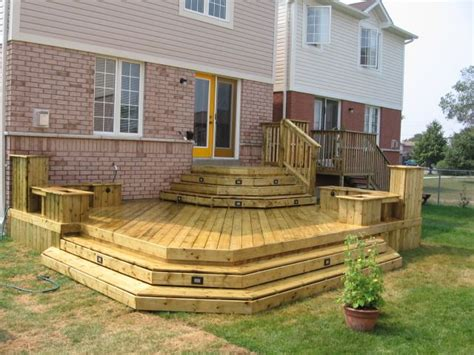 wrap around deck ideas wrap around steps