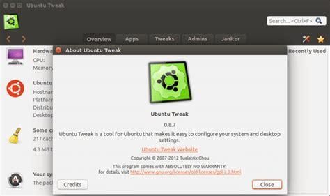 tutorial ubuntu tweak como instalar a ferramenta de configura 231 227 o ubuntu tweak 0