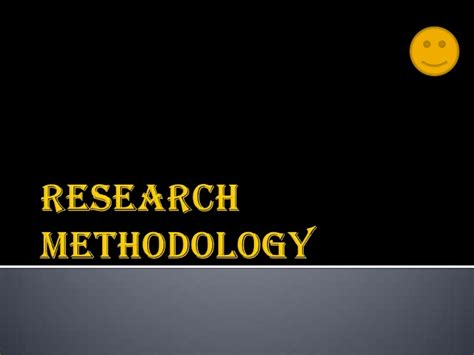 Research Methodology Ppt For Mba by Research Methodology Ppt