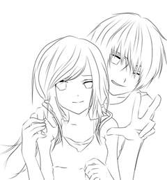 Anime Couples Coloring Pages anime hugging coloring pages coloring pages