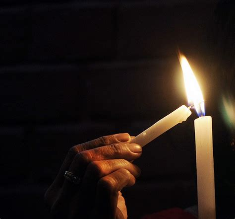 Lighting Candles by Quotes About Lighting A Candle Quotesgram