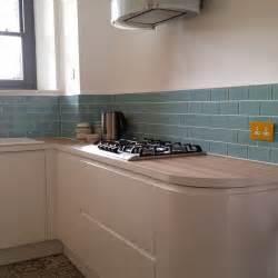kitchen tile ideas uk aqua marine turquoise glass metro tiles kitchen subway