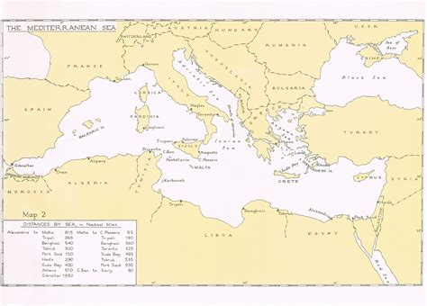 middle east map sea hyperwar the mediterranean middle east vol i chapter i