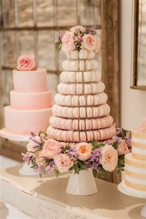 25 best ideas about macaroon wedding cakes on