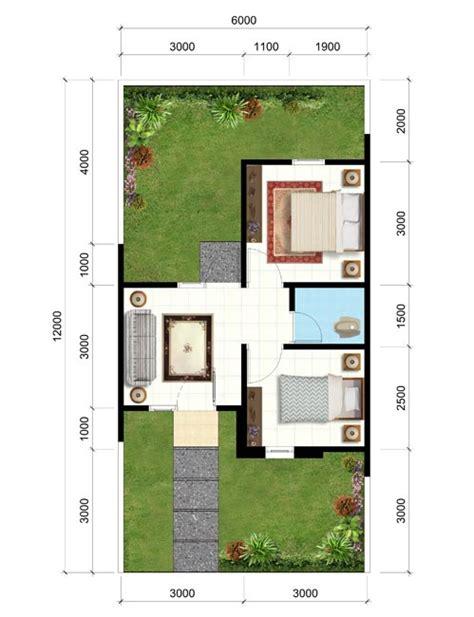 denah rumah minimalis type  rumahku unik