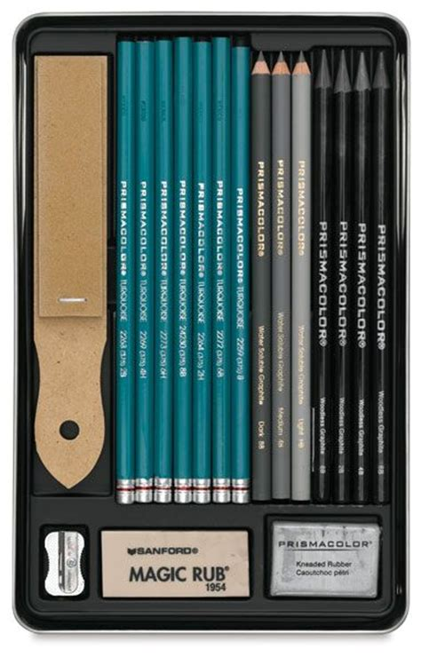 vivid colored pencil graphite drawing set by prismacolor i usually use