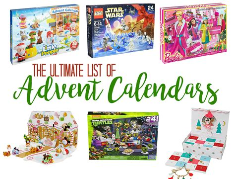 advent calendars the ultimate list of advent calendars how does she