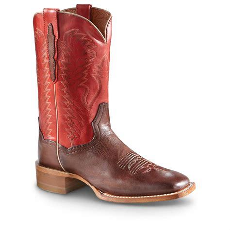 s dan post 11 quot flagger square toe boots 594046
