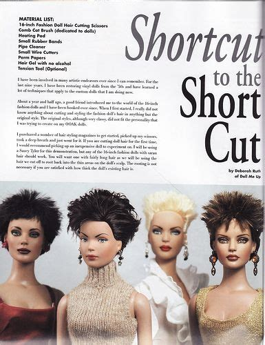 design doll shortcuts 17 best images about barbie hairstyles on pinterest