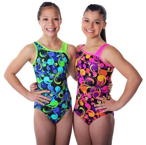 girls leotards gymnastics apparel by snowflake designs new mirage gymnastics leotard by snowflake designs