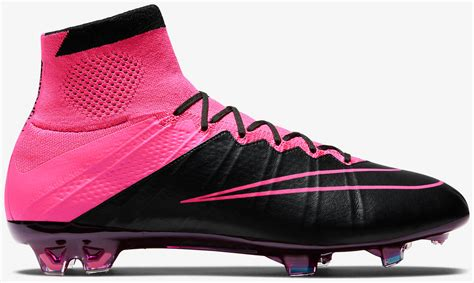 Boots Pink Black nike mercurial superfly black and leather cleats the