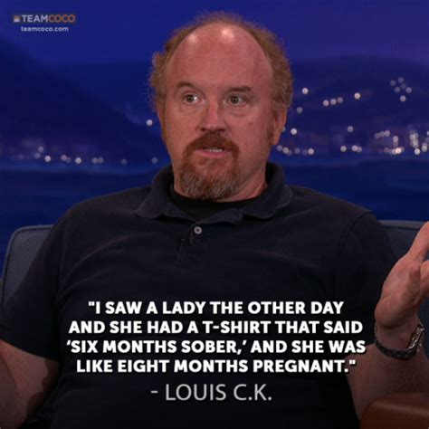 louis ck house louis c k on sober pregnant women on the conan o brien show