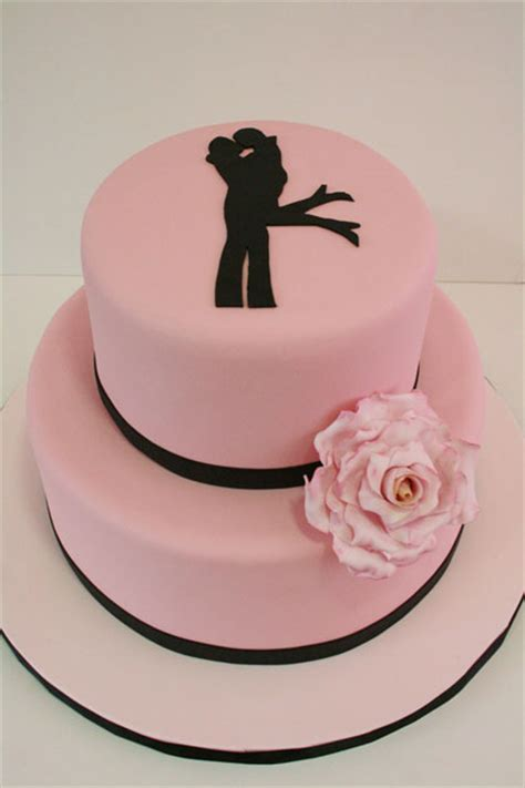 Engagement Cake Designs by Engagement Cakes Nj Silhouette Custom Cakes
