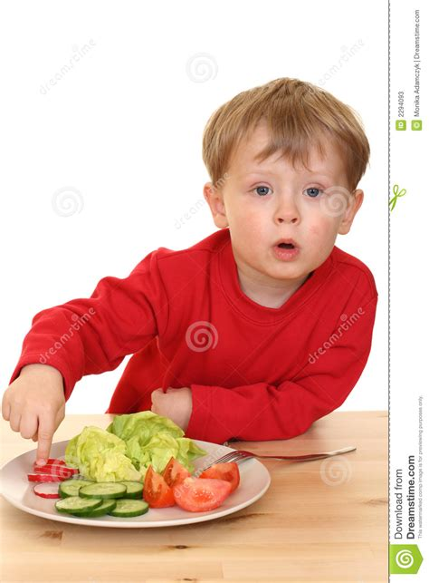 vegetables boys boy and vegetables stock photos image 2294093