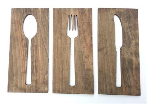 cocina arte 16 cocina arte tenedor cuchara cuchillo madera por