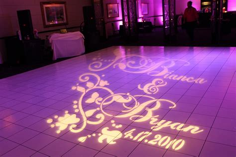 Gobo Light by Weddings Florist Washington Dc Www Davinciflorist Us