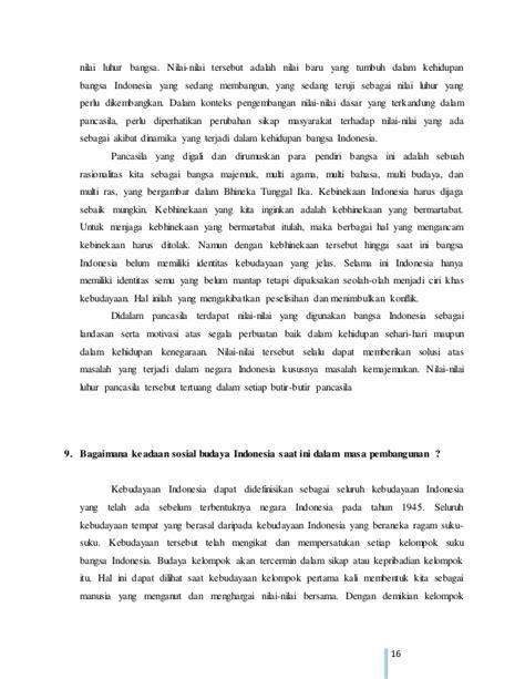 membuat makalah tentang sosial budaya makalah isbd dinamika sosial budaya masyarakat indonesia