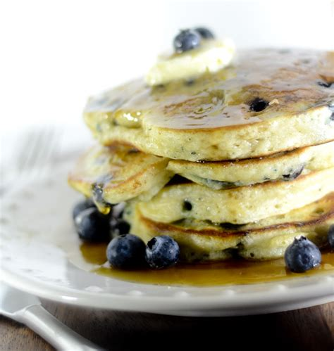 blueberry pancake recipe lemon blueberry pancakes recipe dishmaps