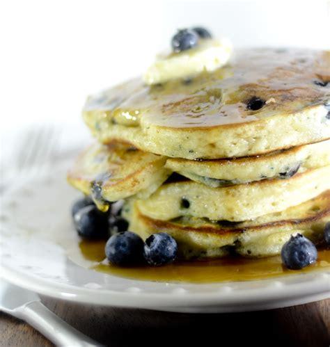 recipe blueberry pancakes lemon blueberry pancakes recipe dishmaps