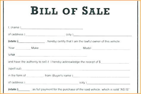 bill of sale car form tempss co lab co