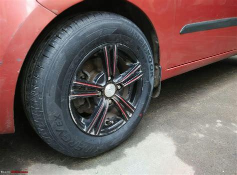 hyundai i10 tyres hyundai i10 tyre wheel upgrade thread page 38 team bhp