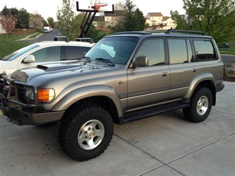 1997 Toyota Land Cruiser 40th Anniversary Edition Sell Used 1997 Toyota Land Cruiser W Ls3 V8 Engine 40th