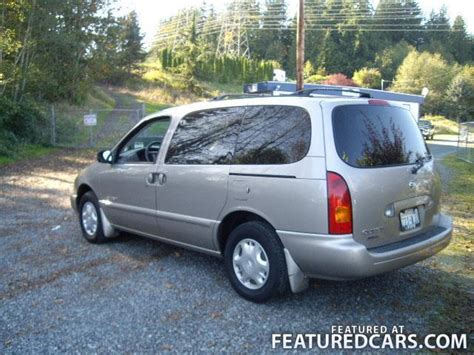 nissan minivan 2000 2000 nissan quest information and photos momentcar