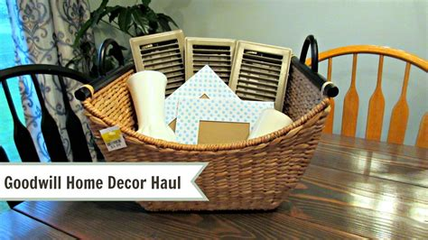 goodwill home decor goodwill home decor thrift haul youtube