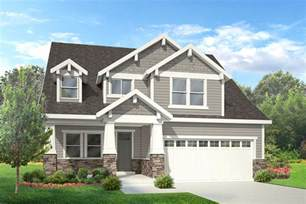 Two Story Craftsman House by Exterior Of Homes Designs Craftsman Style Houses