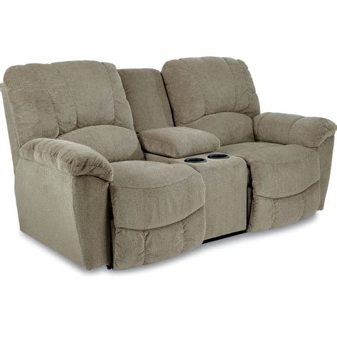 reclining loveseat w console hayes la z time 174 full reclining loveseat w console