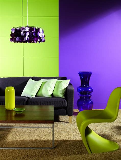 Green And Purple Living Room | 26 relaxing green living room ideas by decoholic bob