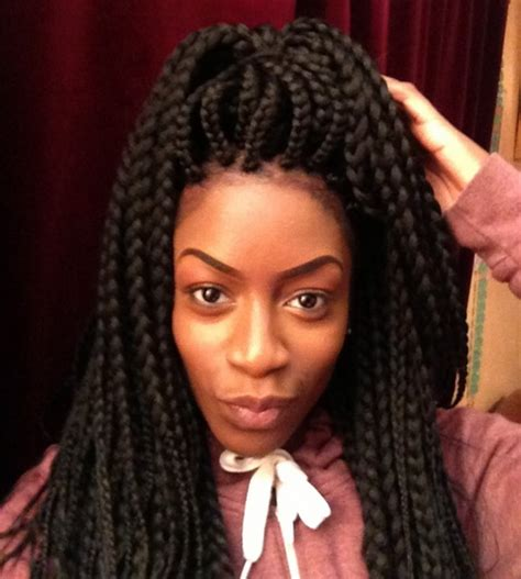 Big Braids Hairstyle by Big Braids Hairstyles