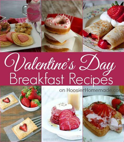 valentines breakfast s day food ideas