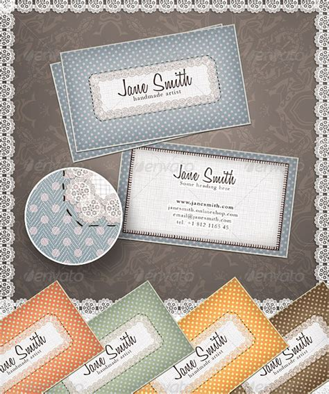 Business Cards For Handmade Crafts - handmade arts crafts business card by colorpo1nt