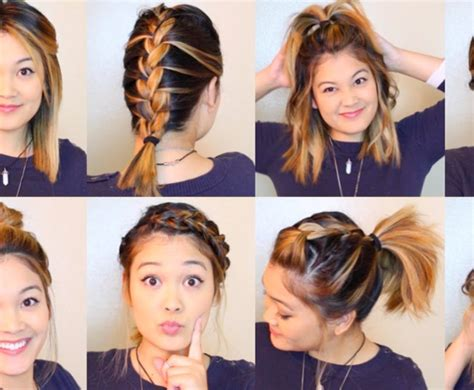 heatless hairstyles for picture day 10 diy heatless hairstyles under 5 minutes