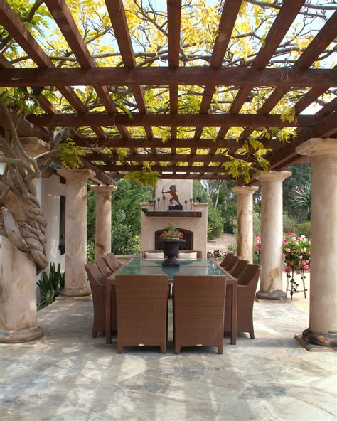 tuscan pergola 22 flower pot garden designs decorating ideas design