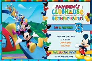 mickey mouse clubhouse invitations free printable