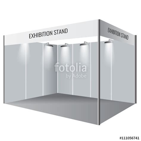 exhibition booth design vector quot creative exhibition stand design booth template