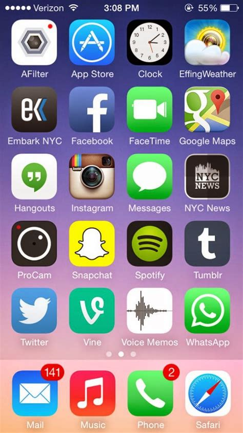 how to set a wallpaper on home screen of iphone 3g image