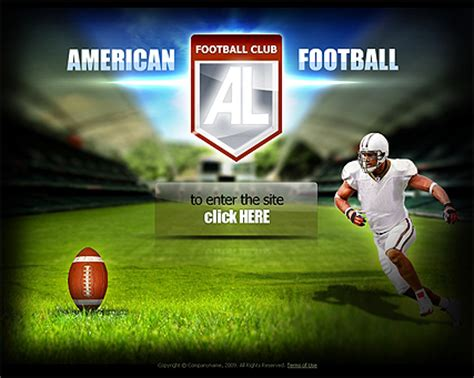 theme blog football american football website template free tonytemplates blog