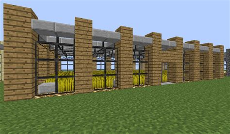 Farmhouse Blueprints by Minecraft Modern Farm Minecraft Project